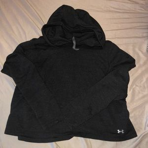 Women's underarmour cropped hoodie